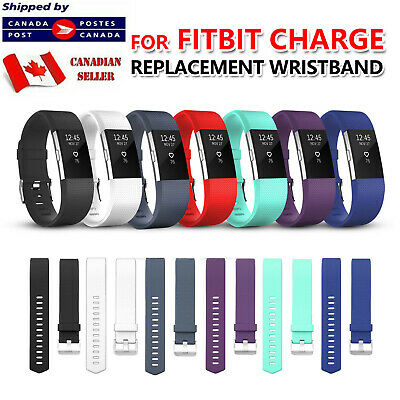 $ CDN5.99 • Buy For Fitbit Charge 2 4 3 S Band Replacement Silicone Strap Soft Bands Small Large