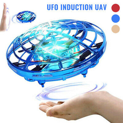 AU21.58 • Buy Mini Drone Quad Induction UFO Flying Toy Hand Control RC For Kids Aircraft Gift❗