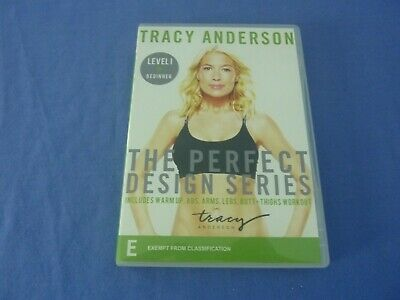 £6.30 • Buy Tracy Anderson DVD The Perfect Design Series Level I Beginner R0 Free Tracked