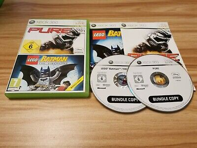 £3.95 • Buy LEGO Batman & PURE For Microsoft Xbox 360 Complete - See Offer!