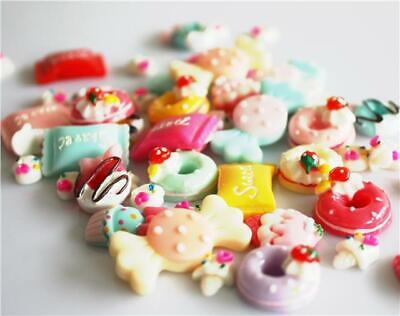 £2.79 • Buy Resin Sweets & Candy Decoden Flatback Cabochons Mix Kawaii Cab25