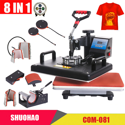 AU632.18 • Buy Combo Heat Press Machine Sublimation Printer 2D Transfer Printer Commercial Use