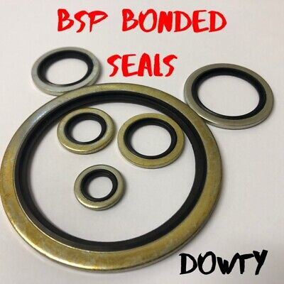 £3.98 • Buy Bonded Seals (Dowty Seal) Self Centering Hydraulic Oil Seal Washer BSP