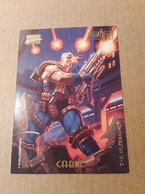 $1.99 • Buy 1994 Marvel Masterpieces Cable Powerblast Insert Card 3 Of 9 NM/M