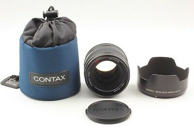 $ CDN3992.82 • Buy [ALMOST UNUSED W/ Hood] Contax Carl Zeiss Planar T* 80mm F/2 For 645 From JAPAN