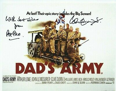 £7.50 • Buy Photo 10  X 8  Ian Lavender In Person Signed Autograph - Dad's Army - K279