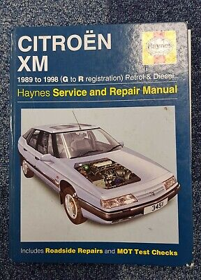 Citroen XM Haynes Service And Repair Manual 1989 - 1998 Petrol & Diesel Hardback • 20£