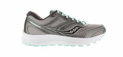 $ CDN53.19 • Buy Saucony Womens Versafoam Cohesion 12 Grey/Teal Running Shoes Size 7 (1811847)