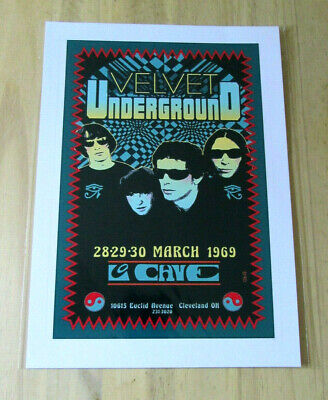 £3.79 • Buy Velvet Underground : March 1969 : A4 Glossy Reproduction Poster