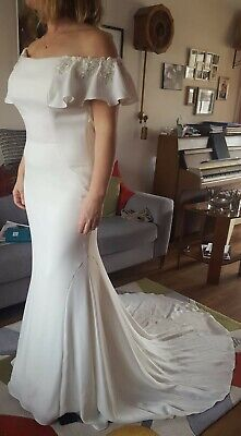 £214 • Buy Maggie Sottero Wedding Dress Size 12-16 (with Alteration) Worn Once