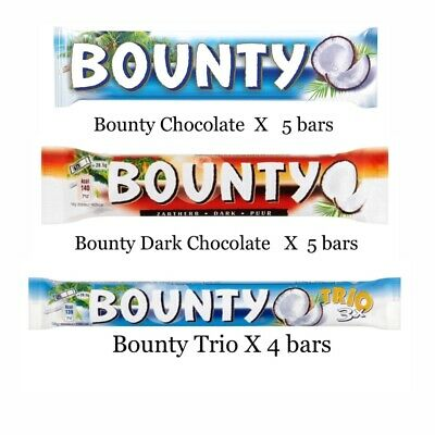 £12.99 • Buy Bounty Mix Coconut Chocolate Bars Treat / Free Postage / Best Offer