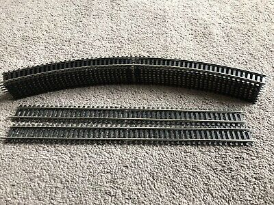 £20 • Buy Hornby R609 Double Curve 3rd Radius Track X 8  + 2 R601 Double Straights