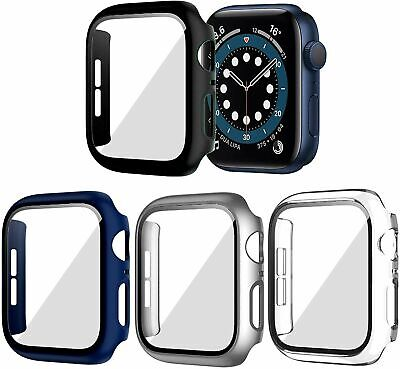$ CDN12.54 • Buy 4 Pack Screen Protector Case Cover For Apple Watch 38 42 40 44mm Series 5 4 3 2