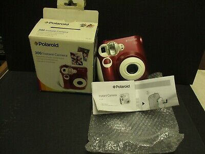 £24.84 • Buy Polaroid 300 Camera Red With Batteries But No Film New Old Stock