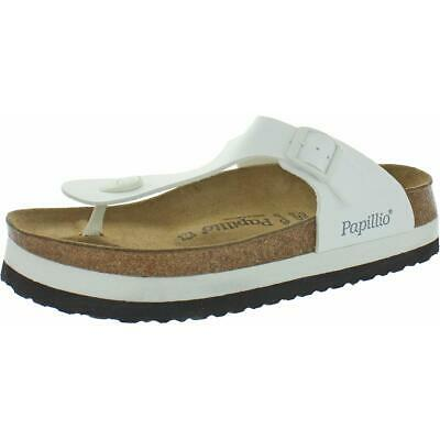Papillio By Birkenstock Womens Gizeh White Footbed Sandals Shoes 42 BHFO 5416 • 39.01£