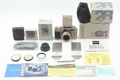 $ CDN999.83 • Buy [MINT All Boxed] Contax G1 Camera + 28mm  Lens + TLA140 Flash + Strap From JAPAN