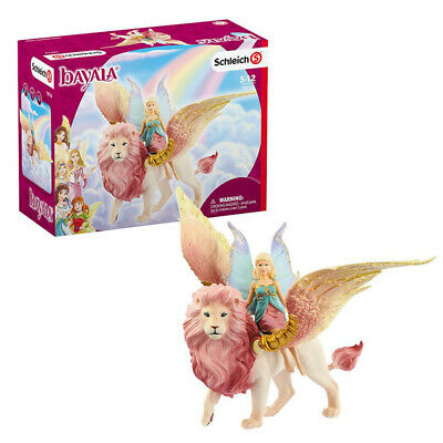 £20.99 • Buy Schleich Bayala Fairy In Flight On Winged Lion Toy Figure Set Ages 5-12 Years