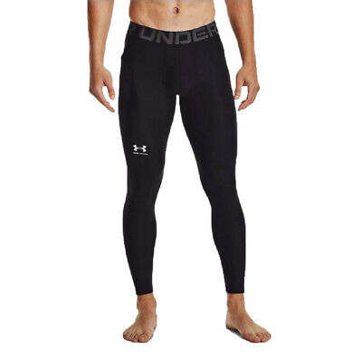 £29.99 • Buy Under Armour Mens HeatGear Compression Tights Bottoms Pants Trousers Black