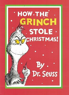 £3.99 • Buy Children's Rhyming Picture Story Book: How The Grinch Stole Christmas: Dr. Seuss