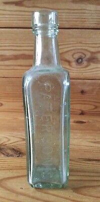 £4.99 • Buy Old Glass Bottle Sea Rescue Palest Green Hue Patersons Camp Coffee Glasgow 6.5