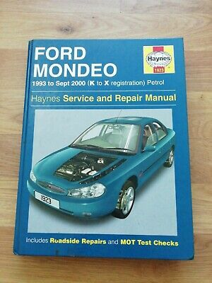 Ford Mondeo Haynes Service And Repair Manual 1993-2000 (k-x Petrol) 1923 • 5.99£