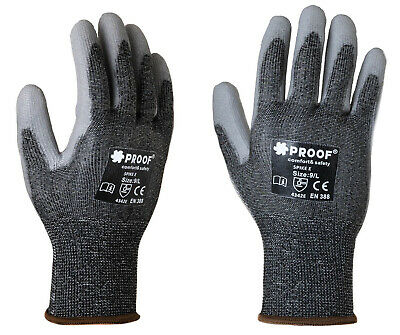 £3.99 • Buy Level 5 Cut Protection Safety Gloves Anti Cut Resistant Hand Protection Gloves