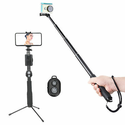 AU36.76 • Buy Action Camera Selfie Stick Phone Clip Stand Tripod For GoPro/DJI OSMO Pocket 2