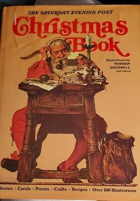 $ CDN13.34 • Buy 1976 The Saturday Evening Post Christmas Book Norman Rockwell