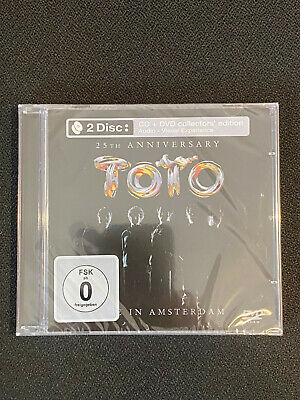 £19.95 • Buy Toto - Live In Amsterdam - 2 Disc: CD + DVD Collectors Edition - New + Sealed