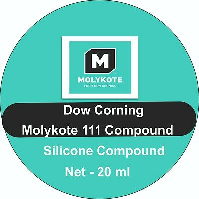 £5.99 • Buy Dow Corning Molykote 111 Silicone Grease For Rubber And Plastic O Rings,Valves