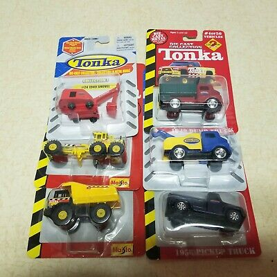$ CDN18.81 • Buy Toy Tonka Truck Maisto Trucks In Blister Packs Collection Early Set Of 6