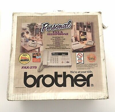 NEW Brother FAX-275 Fax Machine & Telephone • 36.37£