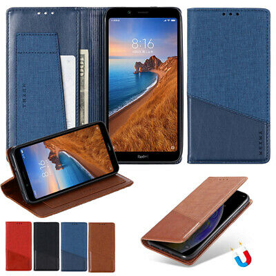 AU10.99 • Buy For Xiaomi 11 10 Redmi Note 9 Magnetic Wallet Leather Flip Card Slots Case Cover