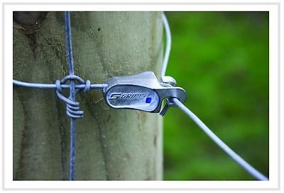 £18.49 • Buy 20no T Clip Gripple - Stock Fencing For Agricultural And Equestrian - Strainer