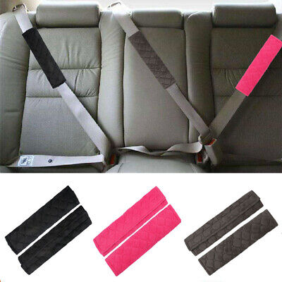£3.61 • Buy 2XCar Safety Seat Belt Comfortable Pad Shoulder Pads Cover Cushion Harness Strap