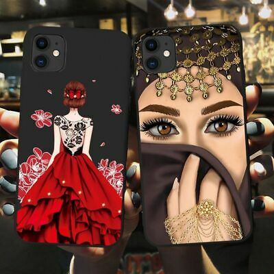 AU12.86 • Buy Luxury Muslim Woman Phone Case Hijab Face Islamic Girl Eyes Cover For IPhone 12