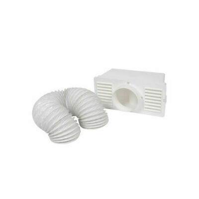 £8.20 • Buy Universal Tumble Dryer Condenser Air Vent Kit White Indoor Box Hose Pipe Adapter