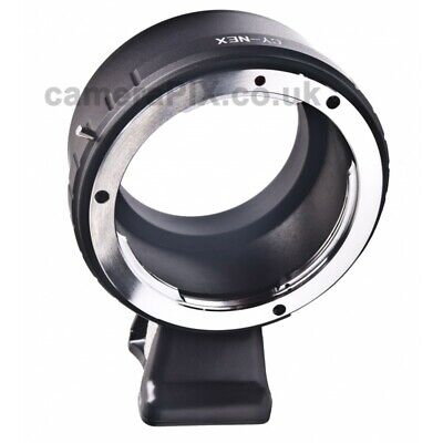 £16.50 • Buy C/Y CY Contax Yashica Lens To Sony E-mount Body Adapter W/ Tripod Stand Nd Mount
