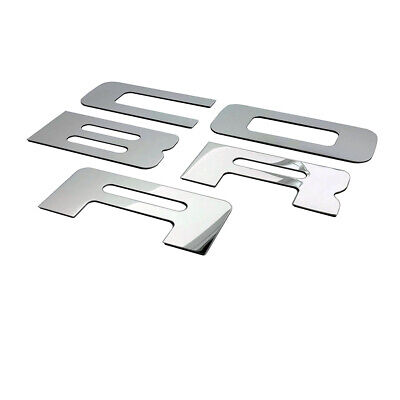 $34.99 • Buy For 03-04 Mustang COBRA Stainless Steel POLBumper Inserts FREE SHIPPING