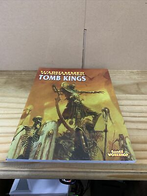(B195) Warhammer Fantasy Tomb Kings Army Book (740) • 16.99£