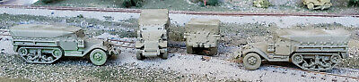 $12 • Buy HO 1/87 Scale US M3 Half Track With Canvas Cover