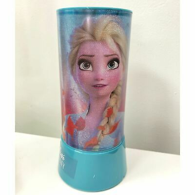 £11.49 • Buy Disney Frozen Night Light Projector Girls Table Lamp Battery Operated Portable