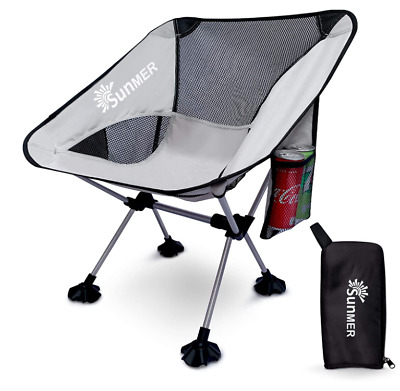 £27.99 • Buy SUNMER Portable Outdoor Camping Chair Seat For Picnics, Hiking, Camping