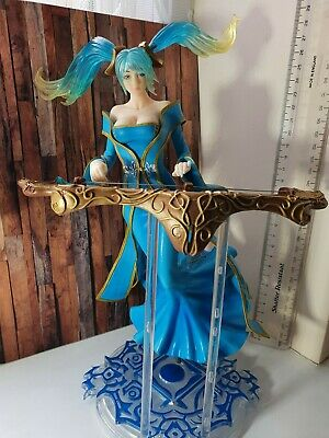 £44.99 • Buy League Of Legends Sona Buvelle Figure Statue - LOL Toy Collectable Bosom Blue