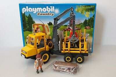 £39.99 • Buy Playmobil Country 6813 Timber Transporter With Crane & Figure Boxed In  VGC