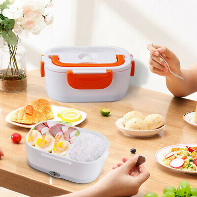 AU10.99 • Buy 1.3-1.5 L The New 12V Heated Lunch Box Eco-Friendly Leakproof  Food Container