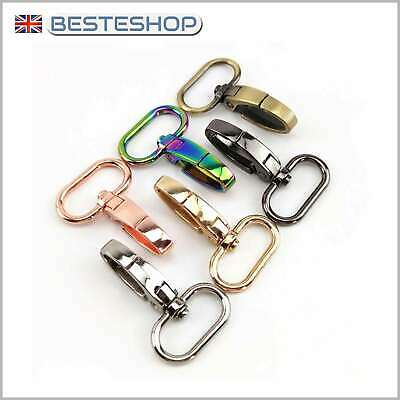 Bag Clasps Lobster Swivel Trigger Clips Snap Hook • 5.69£