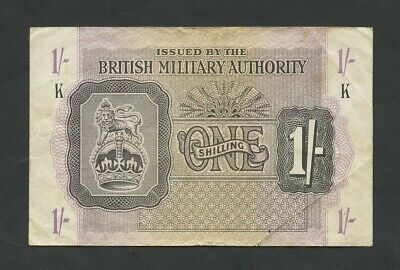 £11.95 • Buy BRITISH MILITARY AUTHORITY  1 Sh  WWII  Krause M2 About VF  Banknotes
