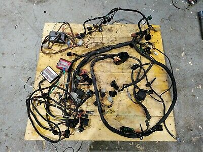 $250 • Buy 2001-2002 Suzuki GSXR 1000 MAIN HARNESS W/ POWER COMMANDER 3 IGNITION MOD, MPS