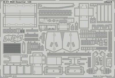 $31.49 • Buy Eduard 36411 1:35 Tamiya Armor M3A1 Scout Car Photo Etched Set
